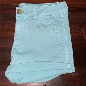 American Eagle Outfitters Blue Midi Shorts size 6